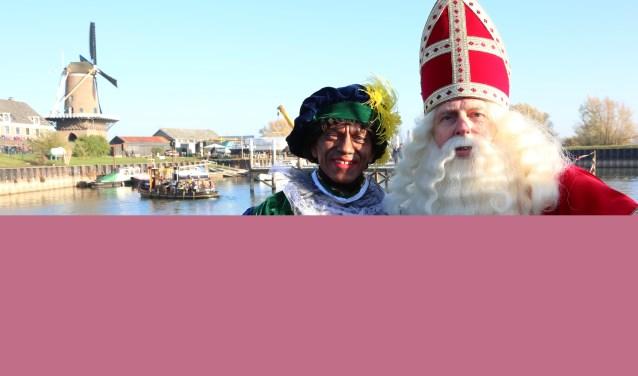 Sinterklaas is onderweg van Spanje naar Wijk bij Duurstede