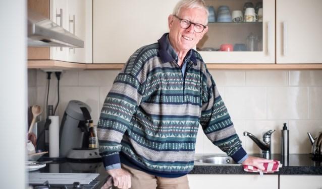 Gerard van der Werf tipt andere mantelzorgers vooral geduld te hebben.