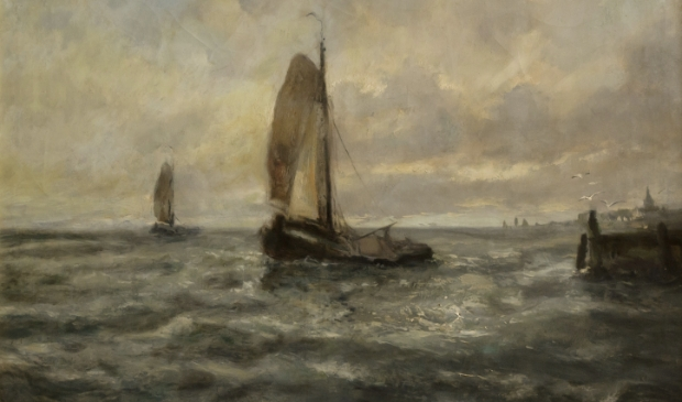 Cornelis de Bruin (1870-1940), Voor Harderwijk, 1918-1923. Olieverf op doek, 60x80 cm. Particuliere collectie. Cornelis de Bruin © BDU media