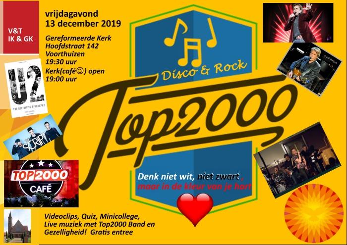 flyer 2019 top2000 cafe © BDU media