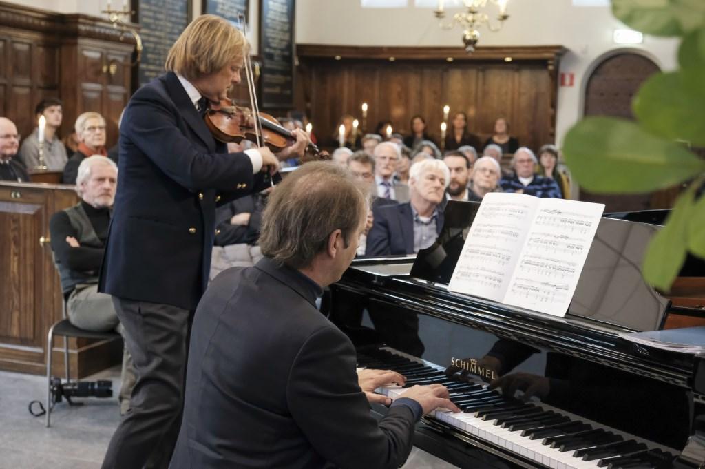 Een muzikaal intermezzo door Edmond Fokker en Jochem Geene Monique van Assem © BDU