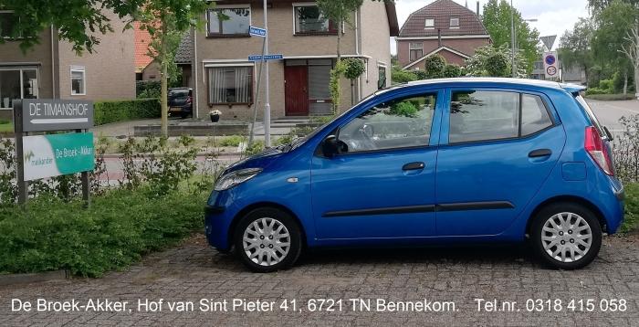 Toegang naar De Broek-Akker vanaf de Commandeursweg / vrije parkeerplaats eigen auto