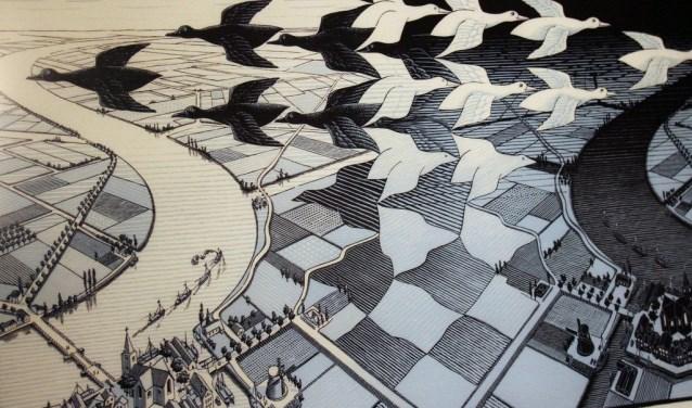 Het werk van Escher moet meer zichtbaar worden in Baarn.