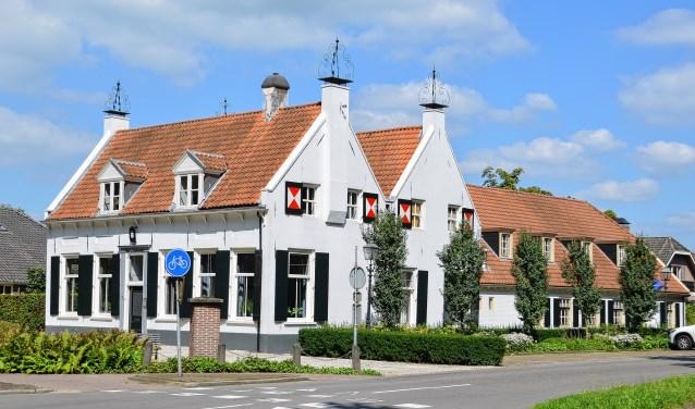 Het gemeentehuis van Renswoude.