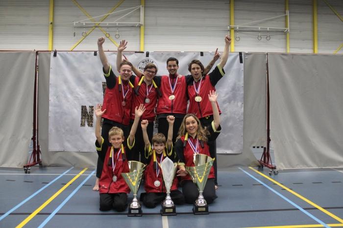 Prijwinnaars Team De Jong Sports