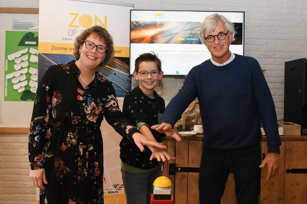 Zonne-dak Rehobothschool Nijkerk feestelijk in gebruik genomen - Stad Nijkerk