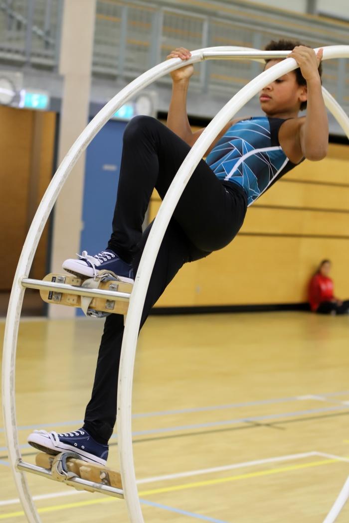 ook jongens zijn actief in deze sport Alex Beukhof © BDU Media