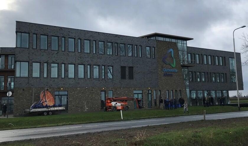 Het gemeentehuis van de gemeente Altena