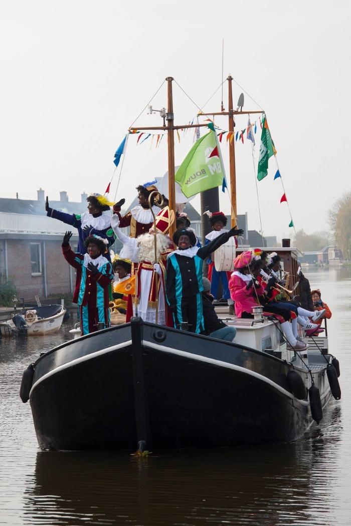 Intocht Sinterklaas Giessenburg