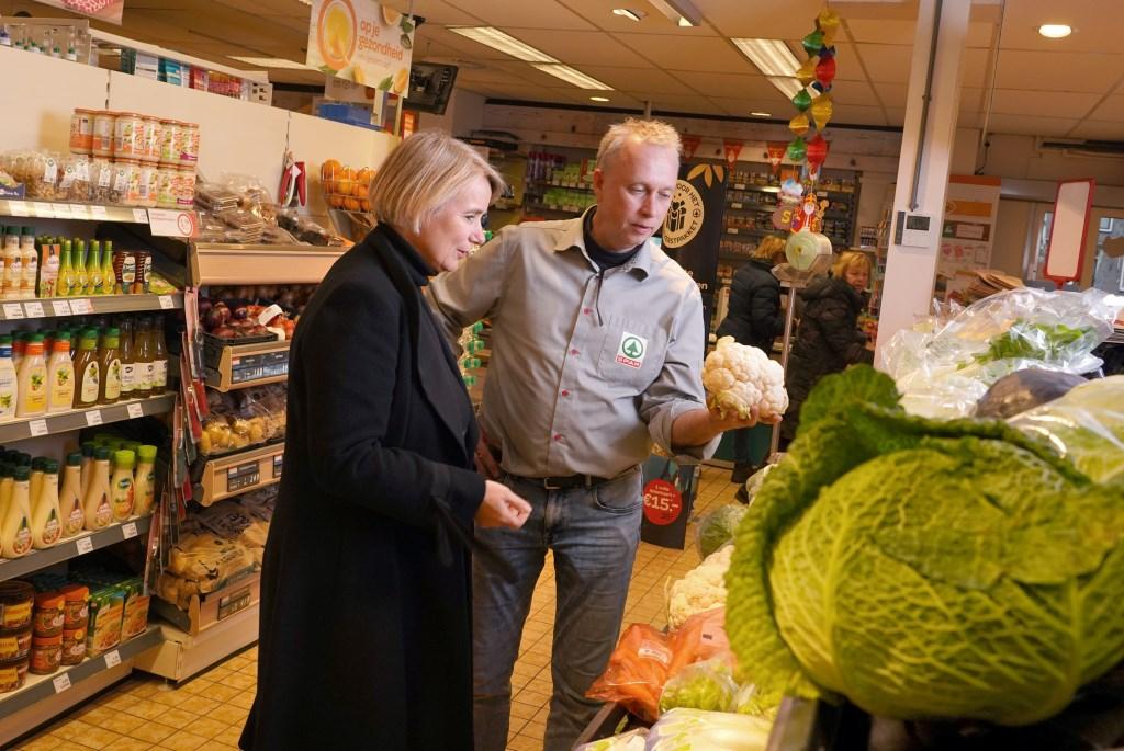 De Spar in Nijkerkerveen. Gemeente Nijkerk © BDU Media
