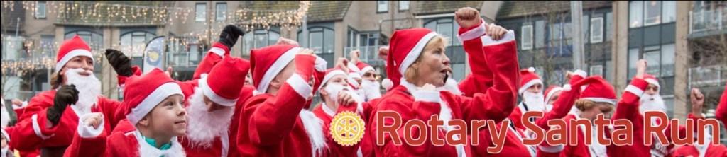 De sfeer tijdens de Rotary Santa Run René van den Brandt  © BDU media