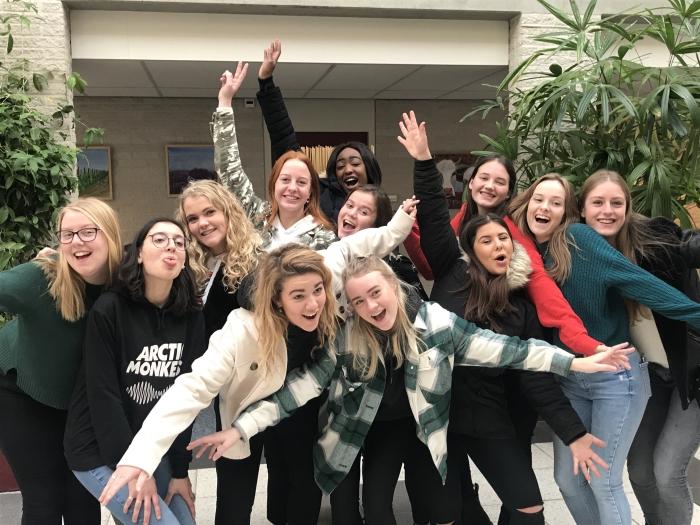 Groepsfoto Nimeto studenten. QuaRijn © BDU