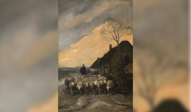 Cornelis de Bruin (1870-1940), Op de Veluwe Putten, 1918-1923. Olieverf op doek, 60x40 cm. Particuliere collectie. Cornelis de Bruin © BDU media