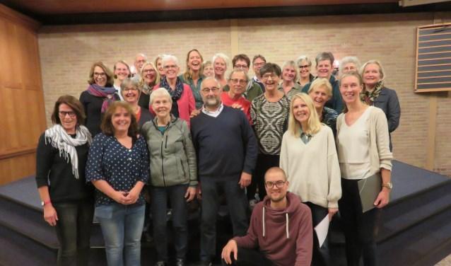 """Jeroen (zittend): """"Ridge Voices is een prima groep om mee te werken"""""""