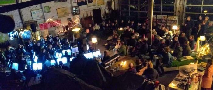 Concert op een bijzondere lokatie...