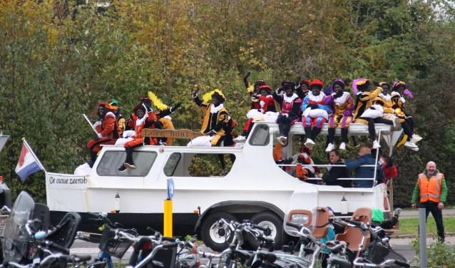 De motorjacht van Sinterklaas. Arnoud J Spaaij © BDU media