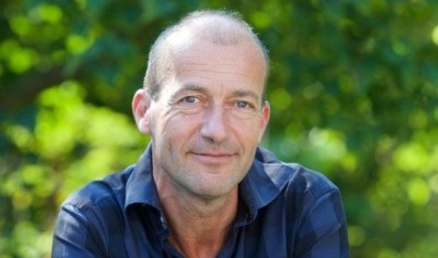 Reinier van den Berg spreekt op het Festival over klimaatverandering