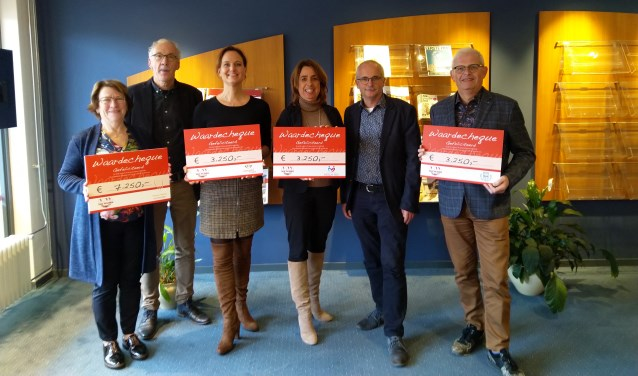 Vier goede doelen getrakteerd door jarig Van Wijnen 7-11-2019, 15:25 NIJKERK In het - Stad Nijkerk