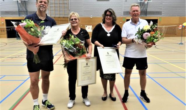 Jos van der Weijden, Margo Pierolie, Marjolein Steffens – van de Water en Ger Vermin.