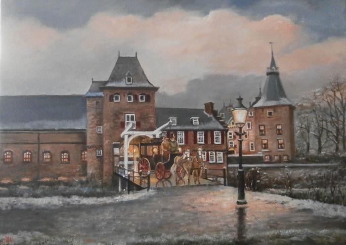 Schilderij kasteel Doorwerth