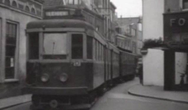 Historische beelden: laatste Haarlemse tram in 1948
