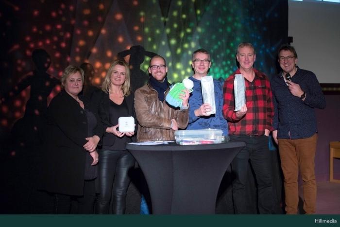 winnaars quiz 2018 Bram van den Heuvel © BDU media