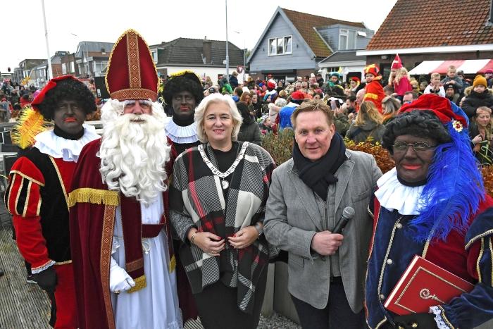 Aankomst Sinterklaas Zwanenburg