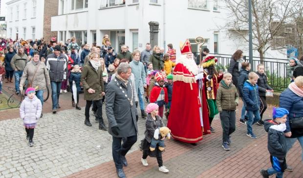 <p>archieffoto van de Sint intocht</p>