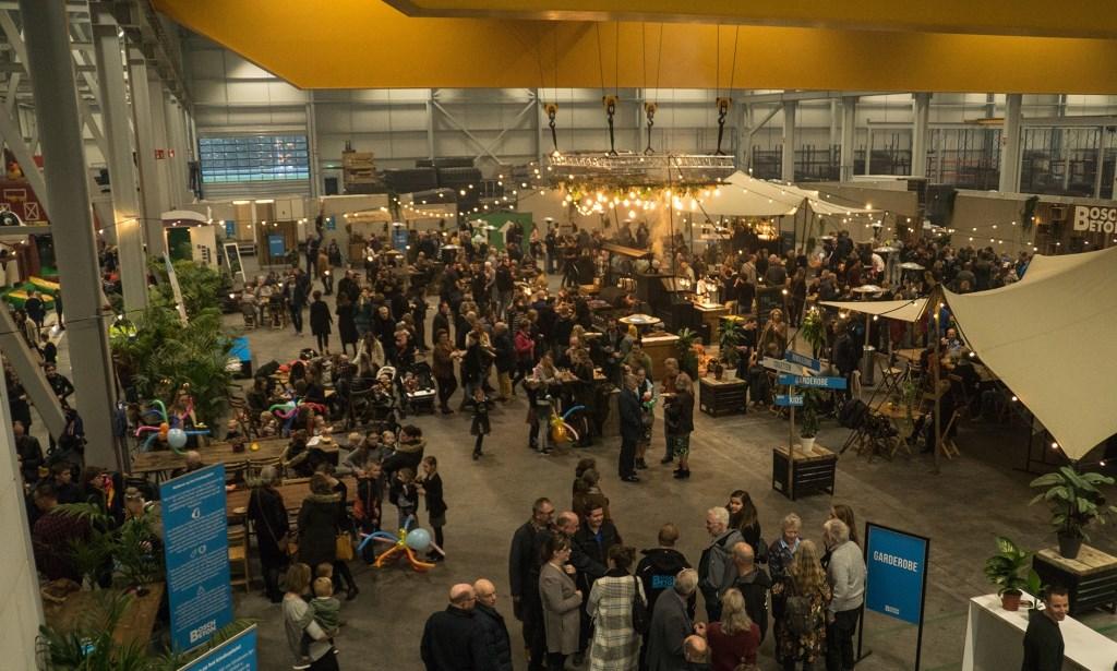 Het foodplein tijdens het open huis op vrijdag en zaterdag. Bosch Beton © BDU media