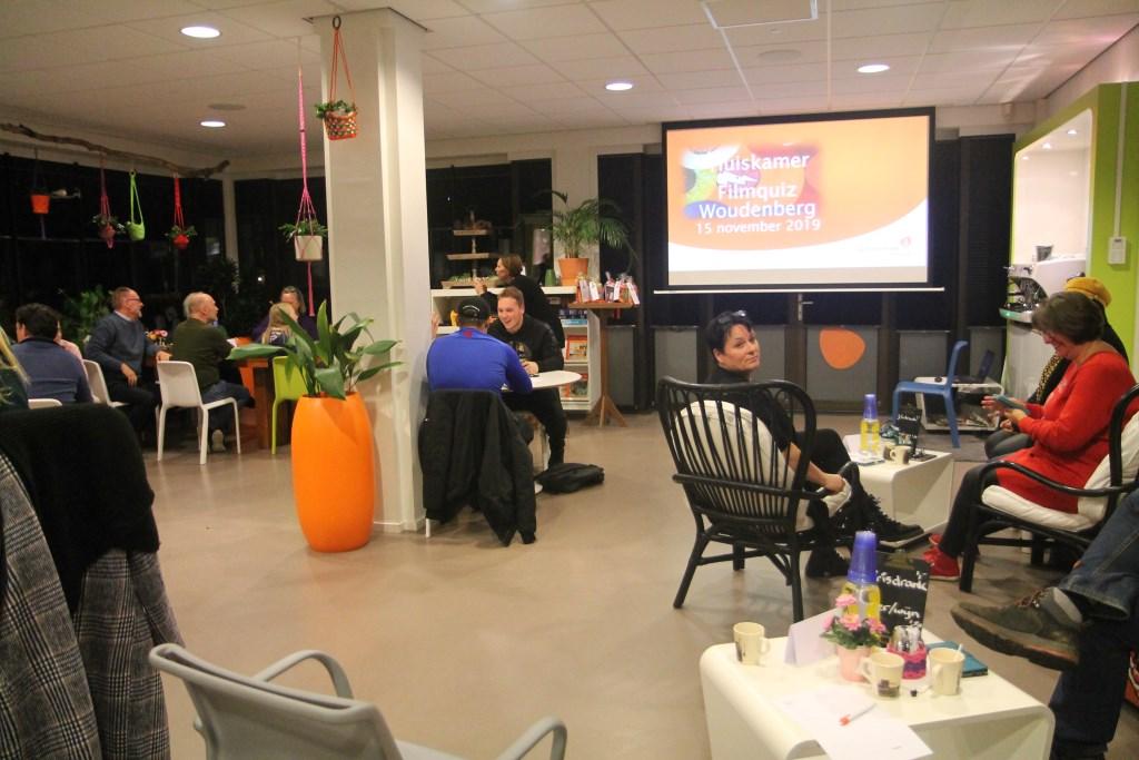 Alle teams konden het scherm goed zien Hannie van de Veen © BDU media