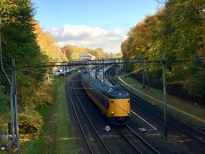Zicht op Station en Spoor vanaf het Kippenbruggetje Onno Wijchers © BDU media