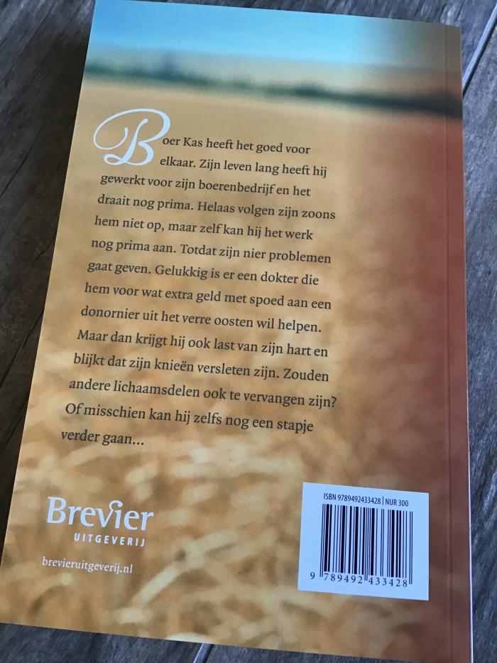 Achterzijde boek Mariëtte Brink  © BDU media