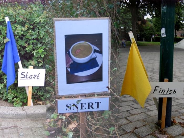 Snertrit - Autopuzzelrit met gratis snert
