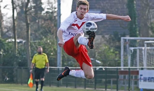 Jos van Leeuwen scoorde de 1-0.