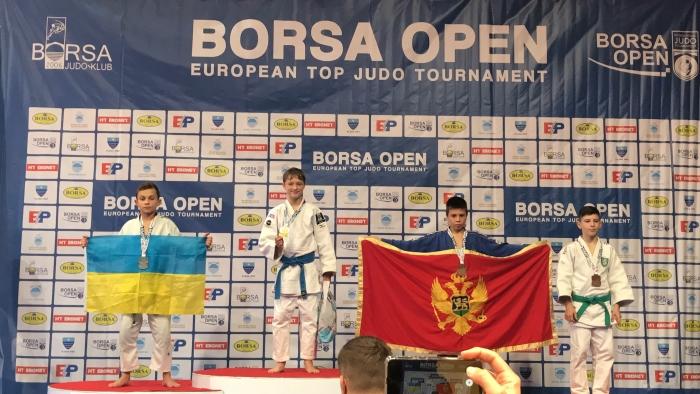 Judoka Inno Loeber wint in Mostar