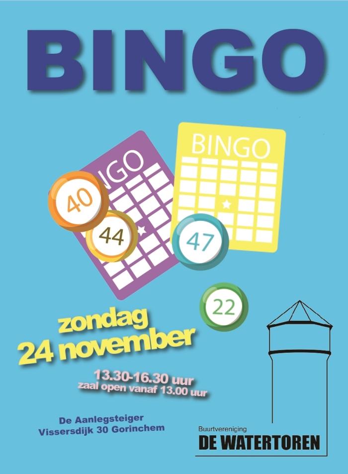 Bingo zondag 24 november
