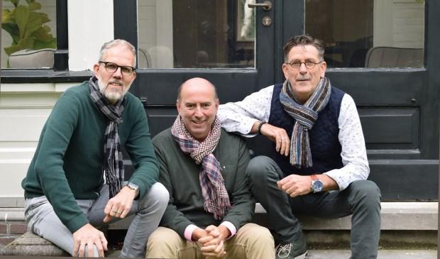 Bert Koning, Henk Drok en Wim de Hoop
