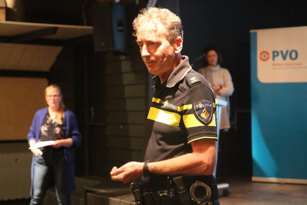 Leidinggevende politieman vertelt wat ze in de praktijk meemaken en geeft waarschuwingen Hannie van de Veen © BDU media