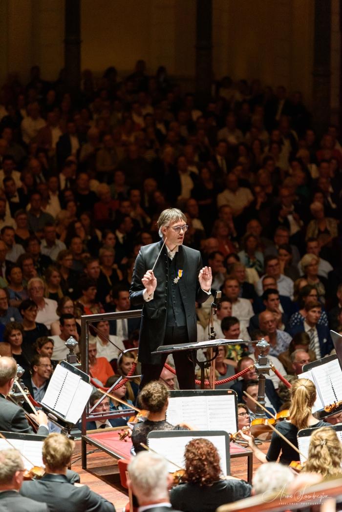 dirigent Marco den Toom Arno Lambregtse © BDU Media