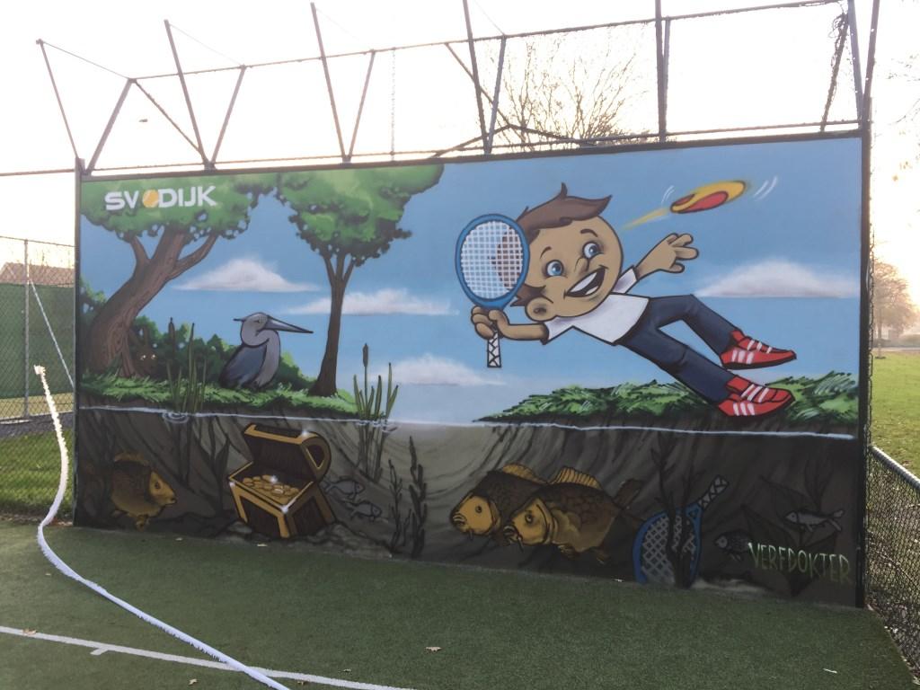 Opening Tennismuur SV Odijk