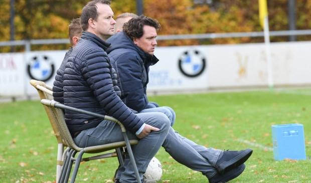 John Kamphuis zit tijdens wedstrijden meestal observerend op de bank. ,,Ik ben rustig en analytisch ingesteld.''