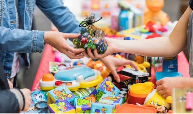 Kom speelgoed ruilen bij recycle Sint