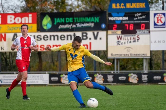De eindstand van 2-0 was zeer verdient, daar NSC Nijkerk de betere was gedurende de hele wedstrijd. EJH Photography © BDU Media
