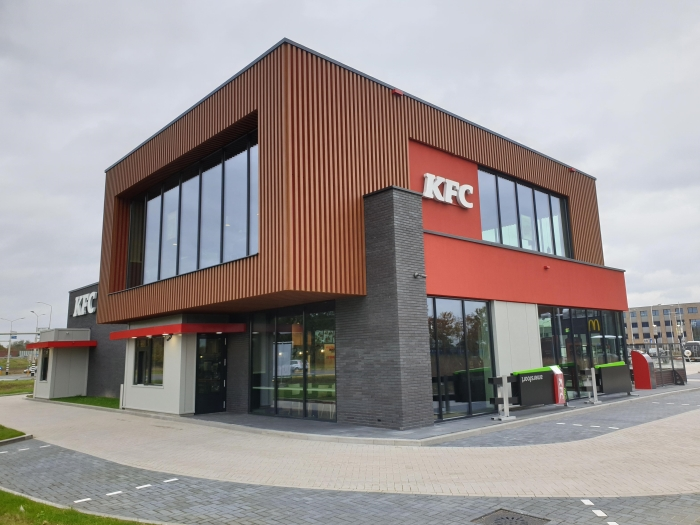 nieuw pand KFC restaurant