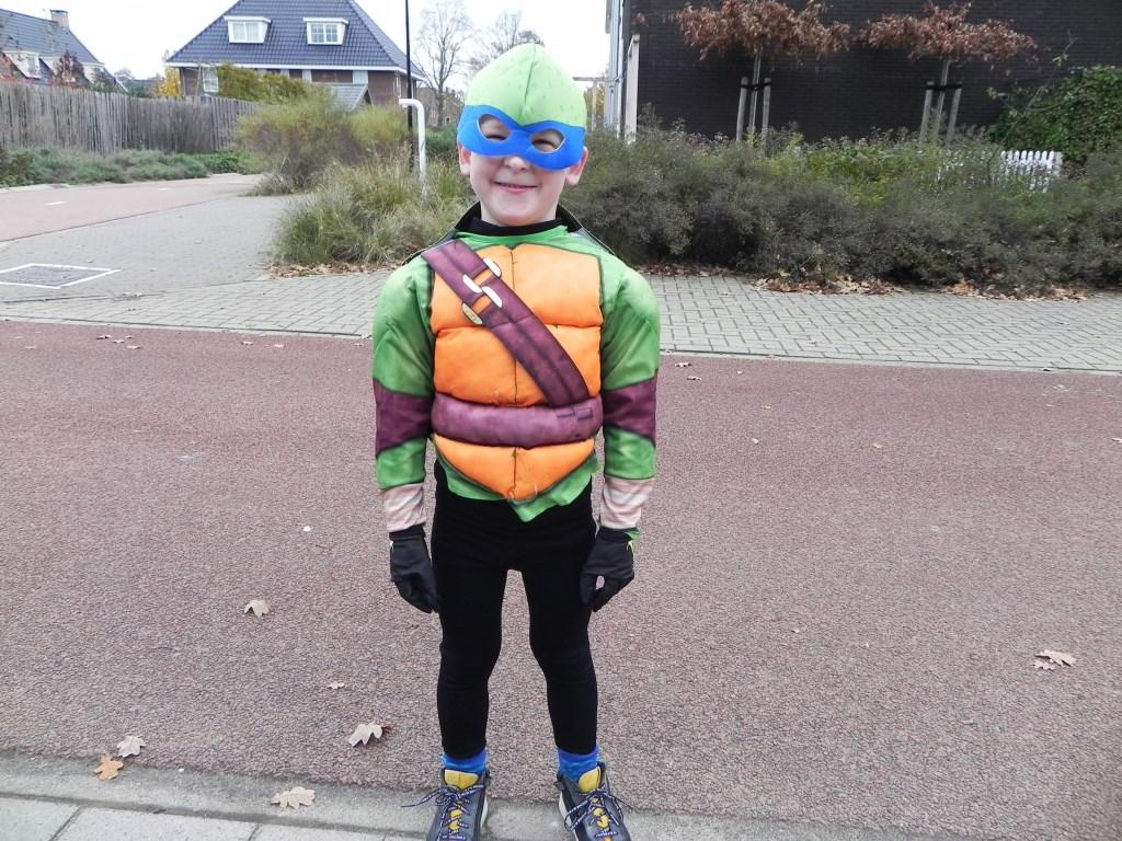 Thijn had een nieuwe variant bedacht: de Ninja-Piet. Richard Thoolen © BDU media
