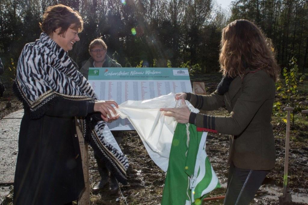 Plantdag in Geboortebos Nieuw Wulven Staatsbosbeheer © BDU media