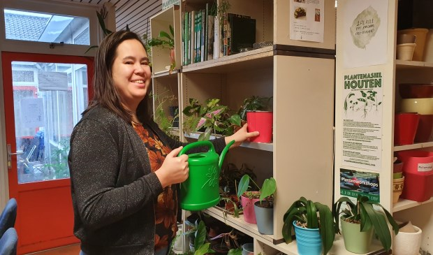 Mai Linh kan zich een leven zonder planten niet voorstellen. Ze houdt al van jongs af aan van planten.