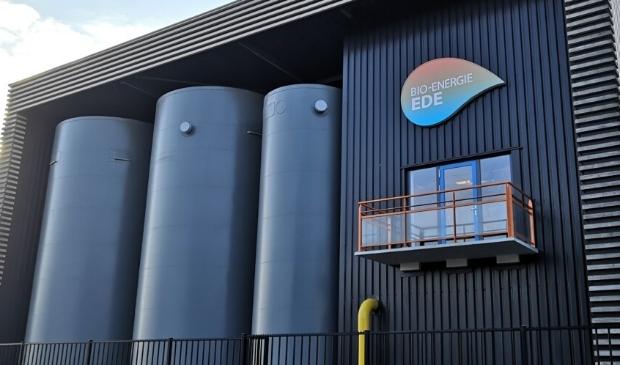 De biomassacentrale aan de Geerweg in Ede-Zuid.