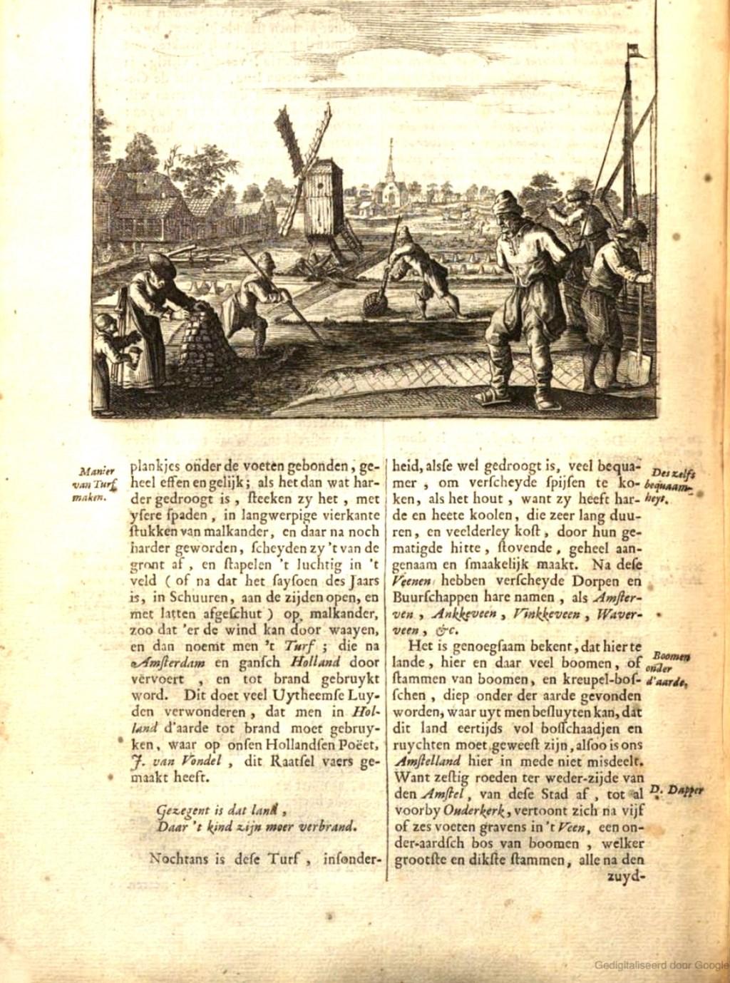 Boek uit 1694 van Casparus Commelin. Wolfgerus van Aemstel © BDU media