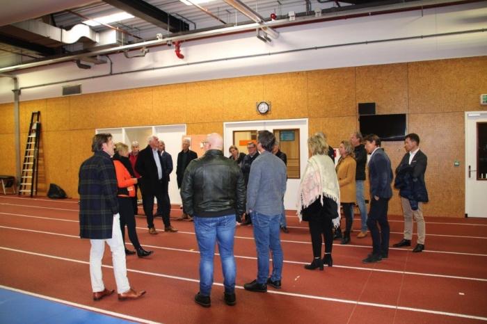 Sponsoren sc Hoevelaken en MHC Hoevelaken ontvangen op Papendal Sportminded Hoevelaken © BDU Media